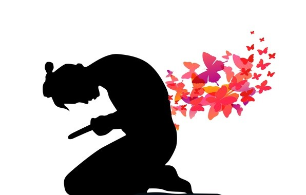 mariposas puñal