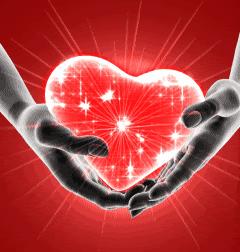 Corazón navidad